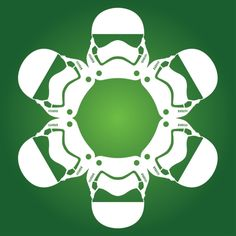 Stormtrooper First Order Star Wars Snowflake