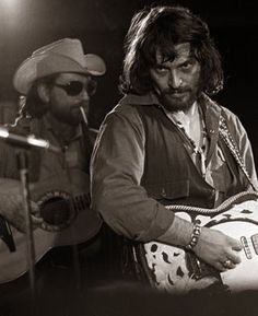 Waylon and Willie. I love this pic! How ripped is Waylon in this one. The boys knew how to party, and yet still make beautiful music together!