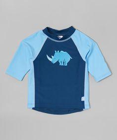 Love this Navy Rhino Rashguard - Infant & Toddler on #zulily! #zulilyfinds