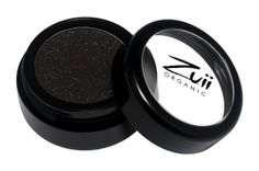 Zuii Organic Flora Eyeshadow Black Diamond.  Zuii's unique Talc Free Certified Organic Floral Blend of rose, chamomile and jasmine powders enriched with natural vitamins and minerals delivers both a subtle and sophisticated colour palette to soothe and nourish your eyelids. No longer are lovers of shimmery eye shadows only for the young, now because of Zuii unique formulation there is no limitation.