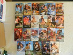 SILHOUETTE-THE FORTUNE'S FAMILY ROMANCES–LOT OF 23 PAPERBACK BOOKS–Combine Ship