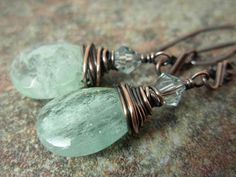 Just A Touch Prasiolite by AdelaDesigns on Etsy