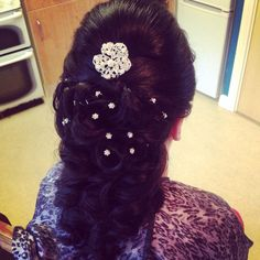 Bridal hair up #hair #hairup