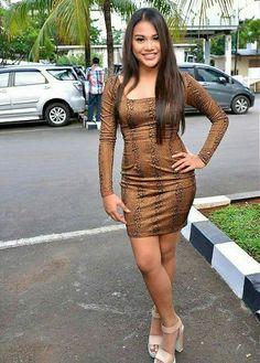 Asian Beauty, Bodycon Dress, Sweaters, Collection, Dresses, Fashion, Vestidos, Moda, Body Con