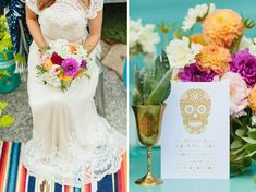Colorful Mexican Folk Art Wedding Inspiration | Green Wedding Shoes Wedding Blog | Wedding Trends for Stylish + Creative Brides