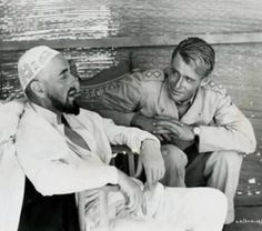 """On the set of """"Lawrence of Arabia"""""""
