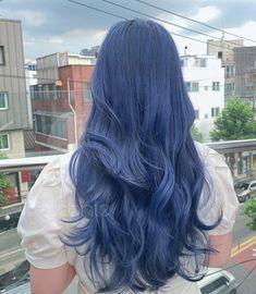 Cute Haircuts, Hairstyles Haircuts, Pretty Hairstyles, Cute Hair Colors, Hair Dye Colors, Fantasy Hair Color, Medium Hair Styles, Long Hair Styles, Pastel Hair