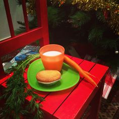 Santa snack photo Karen Eck