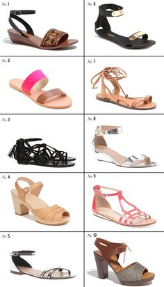 Triple Max Tons: 10 Summer Sandals That You (And I) Need Right Now