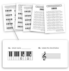 Free music theory worksheet: fill in missing rhythm in