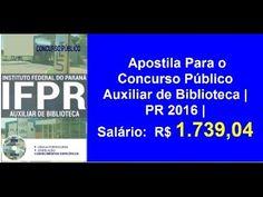 Apostila Concurso Público Auxiliar de Biblioteca | PR 2016 |