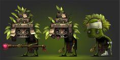 maya by Vadim Kovtun, via Behance