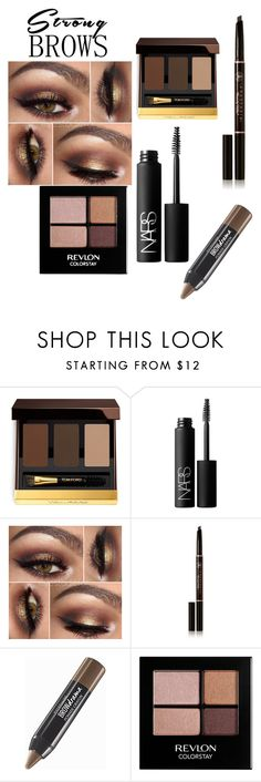 """💁"" by lesliesalinas96 ❤ liked on Polyvore featuring beauty, Tom Ford, NARS Cosmetics, Anastasia Beverly Hills, Maybelline, Revlon, BeautyTrend, strongbrows and boldeyebrows"