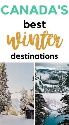 The most magical places to visit this winter in Canada! From sparkling cities to travel to in Canada, to snowy dreamy landscapes and exciting events. Best places to visit in Canada this winter, and more!! #winter #vacation #canada | Winter getaways | Where to go in Winter | Canada Winter trip | Canada winter destinations | Canada Travel | Travel bucket list | Things to do in Canada in Winter | Canada winter activities | Winter vacation | Winter trip Cheap Places To Travel, Cool Places To Visit, Activities To Do, Winter Activities, Winter Light Festival, Winter Getaways, Canadian Travel, Winter Destinations, The Beautiful Country