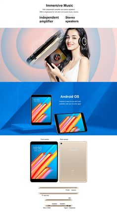 Original Box Teclast M89 MT8176 Hexa Core 2.1 GHz 3G RAM 32G ROM 7.9 Inch Android 7.0 OS Tablet Office And School Supplies, Core, Android, The Originals, Computers