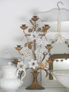 Traumhafter Kirchenleuchter, Altarleuchter,chandelier, antik, Frankreich, shabby