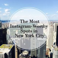 After nearly 6 years in New York, I've done my fair share of eating, drinking and exploring this city. Here's my guide to NYC's most picturesque spots!