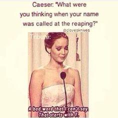 Lol haha funny pics / pictures / Hunger Games Humor / Jennifer Lawrence / Katniss