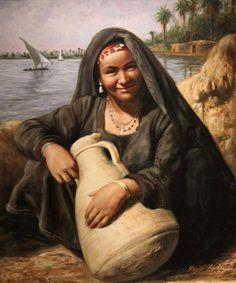 Egyptian art by dr. Farid Fadel