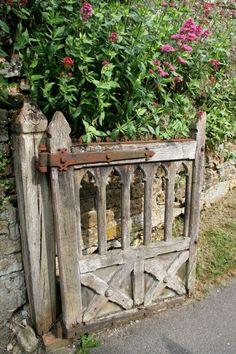 Gothic rustic gate by cheri