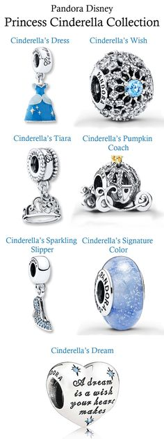 Pandora Disney, Cinderella Collection #pandorajewelry