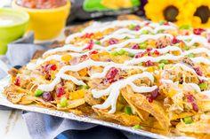 #ad Thanksgiving Leftover Nachos