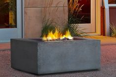 The Bowery Hill Square Natural Gas Fire Table in Glacier Gray is a great design and will keep you warm all season long. The glacier gray color is great and will fit in with most landscaping you already have in place. Gas Fire Table, Lawn And Garden, Home Goods, Warm, Natural, Grey, Outdoor Decor, Design, Home Decor
