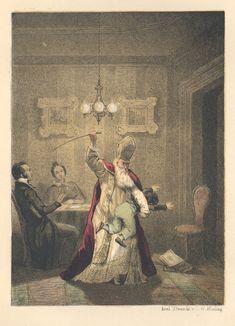 Illustraties uit kinderboeken over Sinterklaas