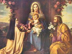 Rosas a Maria Santisima