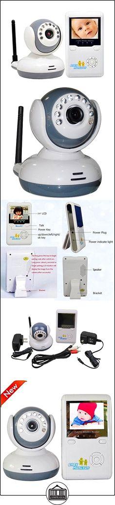 SmartEra® 2,4 pulgadas de monitor digital video sin hilos del bebé con la visión nocturna, de dos vías de intercomunicación, zoom in / out, 4 canales  ✿ Vigilabebés - Seguridad ✿ ▬► Ver oferta: http://comprar.io/goto/B01C8G8WEE