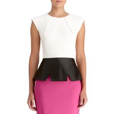 Love this combination. Would be better if the skirt or shirt detail was eggplant purple.
