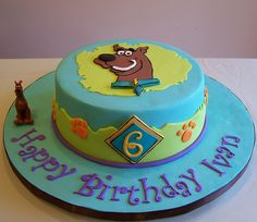 Scooby-Doo cake by cakespace - Beth (Chantilly Cake Designs), via Flickr