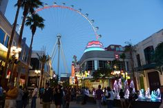 40. Go zip-lining through Fremont St It may be Downtown's biggest eyesore, but it's still pretty fun. Take a zip line ride from a two-story-tall replica of a slot machine. A second level allows you to fly horizontally like Superman.