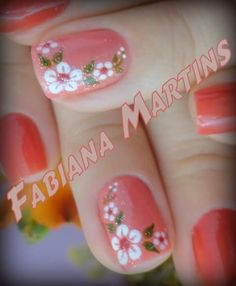 puntos Manicure Nail Designs, Manicure And Pedicure, Colorful Nail Designs, Cute Nail Designs, Spring Nails, Summer Nails, Cute Nails, Pretty Nails, Nails Now