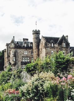 A final view of Skibo Castle.