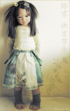 Ai Lien (Annette Himstedt 2005) in Mika's outfit