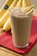 banana smoothie recipes *recommends freezing bananas at peak ripeness (maybe I'll waste less bananas this way)