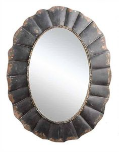 "Why We Love It Metal Framed Mirror More Information Dimensions: 23-1/2""L x 31""H"