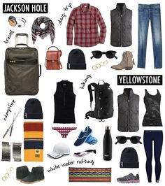 WHAT TO PACK FOR JACKSON HOLE AND YELLOWSTONE