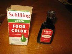 Vintage Schilling Food Colors