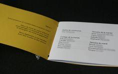 Livrets de cérémonie Mademoiselle Dentelle : A CONSULTER !