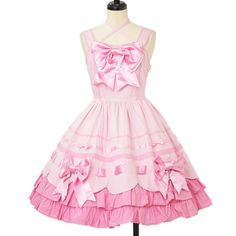 ♡ Angelic pretty ♡ Ribbon scalloped jumper skirt http://www.wunderwelt.jp/products/detail12037.html ☆ ·.. · ° ☆ How to order ☆ ·.. · ° ☆ http://www.wunderwelt.jp/user_data/shoppingguide-eng ☆ ·.. · ☆ Japanese Vintage Lolita clothing shop Wunderwelt ☆ ·.. · ☆