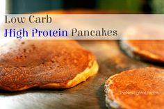 Low Carb High Protein Pancakes (S)