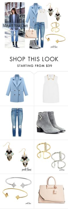 """""""Make It Your Own"""" by parklanejewelry on Polyvore featuring Miu Miu, J Brand, Nicholas Kirkwood, GUESS, women's clothing, women's fashion, women, female, woman and misses"""