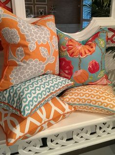 - Palm Beach & Naples Collections  #BeachPillows #CoastalPillows #CoastalHomePillows
