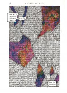 Blackout Poetry Lesson | followed the trail of Blackout poetry to Austin Kleon . His site has ...