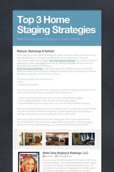 Top 3 Home Staging Strategies