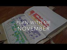 Plan With Me November   Hobonichi A6 Setup - YouTube