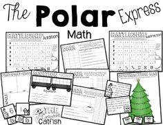 Polar Express math activities! http://www.teacherspayteachers.com/Product/The-Polar-Express-Book-Companion-1554295