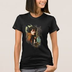 The Hobbit Unexpected Journey Movie Other Boyfriend Kili Juniors Sheer T-Shirt
